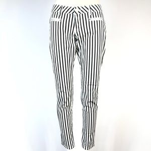 Forever 21 striped pants skinny